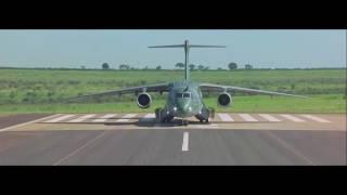 Embraer   KC 390 Military Transport Aircraft First Flight 1080p