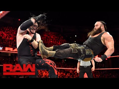 Braun Strowman vs. Kane Winner Challenges for Universal Title at Royal Rumble Raw Dec. 11 2017