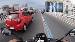 Riding the greasy streets of Manila