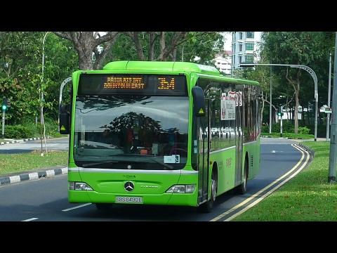 Go-Ahead Singapore Bus Service 354, SBS6522Y (Full trip)