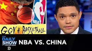 The NBA's Full-Court Drama with China   The Daily Show