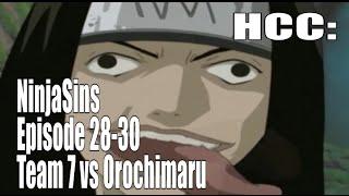 (Parody) Ninjasins: Episode 28-30: Team 7 vs Orochimaru (English dub)