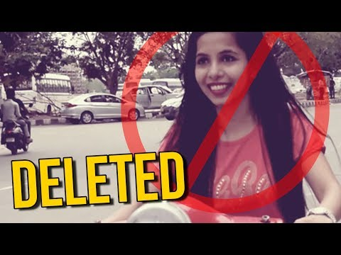 DHINCHAK POOJA VIDEOS DELETED?