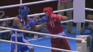 Aloian (RUS) v Nyambayar (MGL) - Boxing Men's Fly Semi-Final | London 2012 Olympics