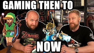 GAMING THEN TO NOW - Happy Console Gamer