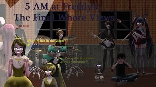 MMD Five Nights At Meiko's - 5AM At Freddy's:The Final Whore Views