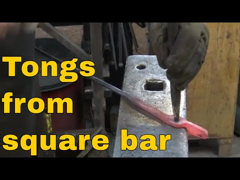 Xxx Mp4 Blacksmith Tongs From Square Bar With Drawn Out Reins 3gp Sex