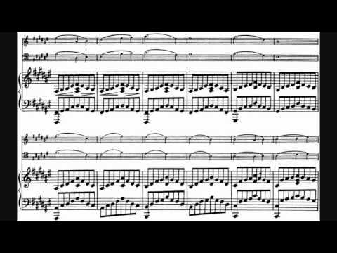 Franck Piano Trio No. 1 Trio concertant in F sharp minor Op. 1 1 1840