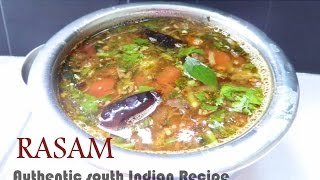 Rasam recipe in tamil  - Authentic south Indian style
