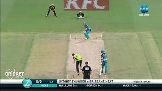 Highlights: Thunder v Heat - BBL06