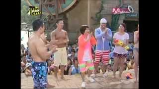 Muscle guys in Korean TV show