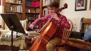 Brendan cello solo, Elegie
