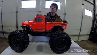 How to jump an RC car ft. Arrma Outcast 6S doing standing backflips