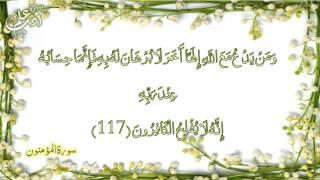 Manzil ( Quranic dua Manzil Voice Mishary al Afasy )