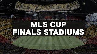 MLS Cup Finals Stadiums