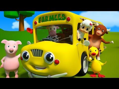Las ruedas del autobús Y muchas más canciones infantiles Farmees