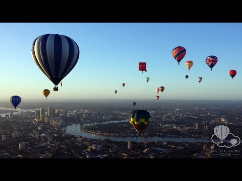 Xxx Mp4 Hot Air Balloon Flight Over Central London June 2015 GoPro HD 3gp Sex