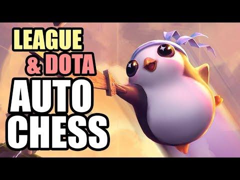 League and Dota Auto Chess