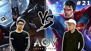 Batman V Superman! Musuh atau Kawan?! - Arena of Valor (w/ PokoPow) [INDONESIA]