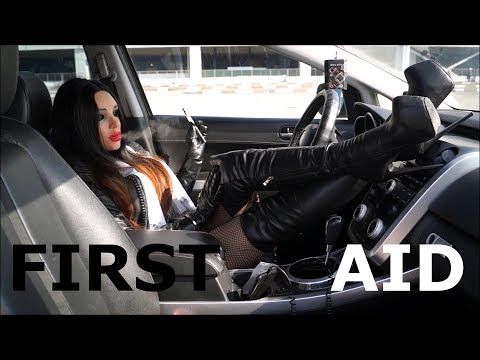 Xxx Mp4 Nurse 2 First Aid Leather Outfit With Thigh High Boots And Leather Gloves 3gp Sex