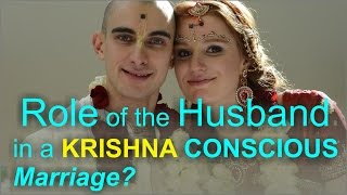 What is the role of the husband in a Krishna Conscious marriage? (Hindi) by HH Nava Yogendra Swami