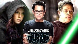 Star Wars Episode 9 JJ Abrams Responds To Fans & More! (Star Wars News)
