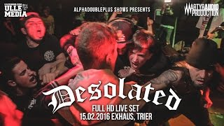 Desolated - FULL HD LIVE SET - Exhaus, Trier - 15.02.2016