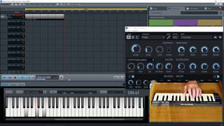 Magix Music Maker 2017 Premium - Absolute Beginners Tutorial - Part 17 - Mixing MP3 and MIDI