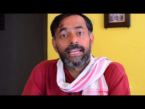 Yogendra Yadav's  Appeal to Voters