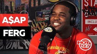 A$AP Ferg Keeps It REAL On Kendrick Lamar + Addresses A$AP Bari Situation