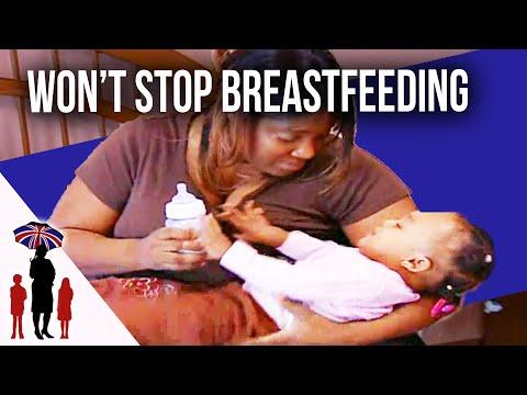 Xxx Mp4 Mum Can 39 T Stop Breastfeeding Supernanny 3gp Sex