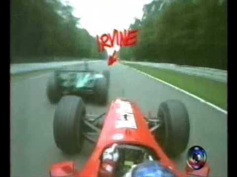 Barrichello On Board Hockenheim 2000 TV GLOBO