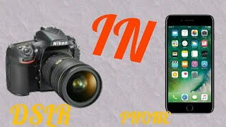 Tik Tok episode special!!!! DSLR camera in Android phone how to download, how to uses step by step!!