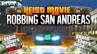 GTA 5 HEIST MOVIE!