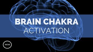 Brain Chakra Activation - Crown + Third Eye + Pituitary Gland Complete Activation - Binaural Beats