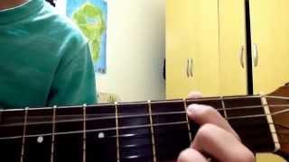 Como tocar a música do iron man no violão!