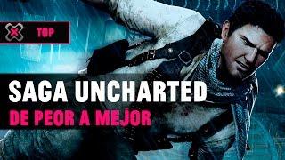 La saga 'Uncharted' ordenada de PEOR a MEJOR