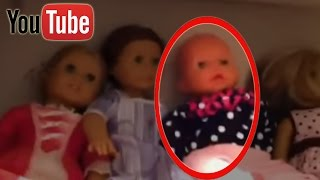 10 DEMONIC and POSSESSED Dolls Caught on Camera