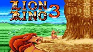 The Lion King - 3 walkthrough (Sega Mega Drive/Genesis).