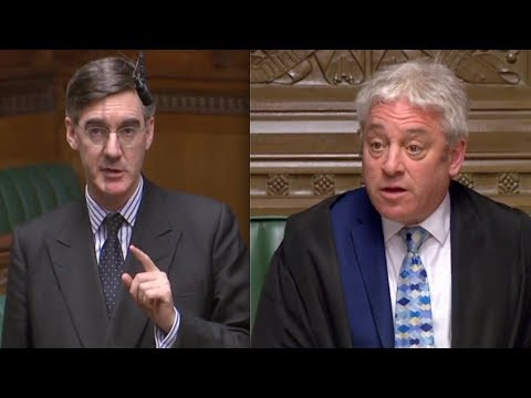 BREXIT Jacob Rees Mogg WARNS Speaker Bercow people feel been bounced hurried and harried