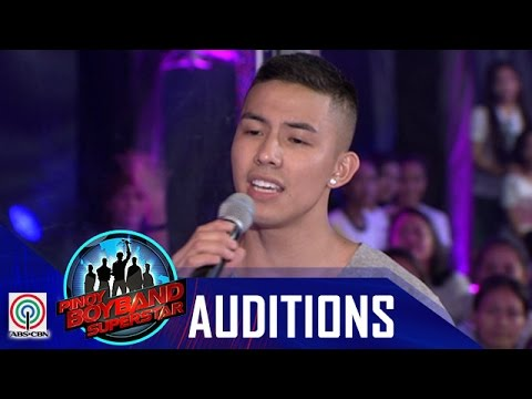 """Pinoy Boyband Superstar Judges' Auditions Tony Labrusca """"You And Me"""""""