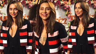 Anusha Dandekar in Black Dress At Launch Of Campaign Find The Monbumble