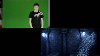 A VFX before/after: Forbidden sword