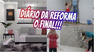DIÁRIO DA REFORMA #3 - O final!!! - A CASA ESTÁ PRONTA | #NovembroEsPRIcial 19