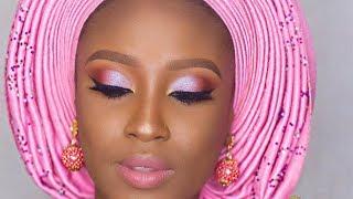 NIGERIAN TRADITIONAL BRIDAL MAKEUP TUTORIAL