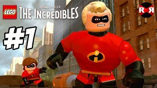 LEGO The Incredibles - UNDERMINED - PS4 Pro Walkthrough Gameplay Part 1