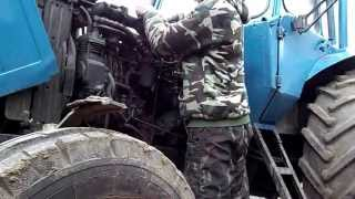 Плановое ТО трактора МТЗ 80