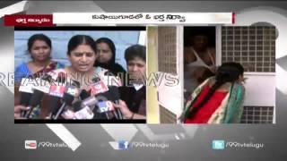 Husband Beat Wife In Front Of Camera In Kushaiguda || 99tv
