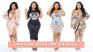 Plus size | Curvy Girl Fashion Nova Try On Haul | Edee Beau