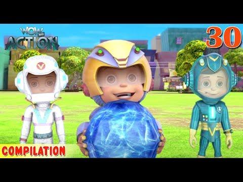 Xxx Mp4 Vir The Robot Boy Vir Action Collection 30 Action Series WowKidz Action 3gp Sex